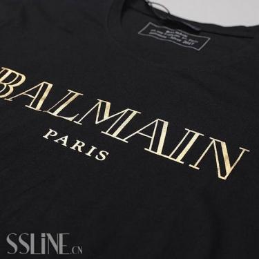 法国奢侈品牌Balmain也加入改logo阵营